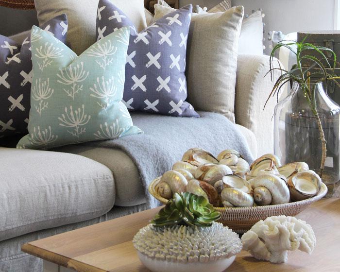 Beach house interiors homeware we create beautiful for Homeware decor